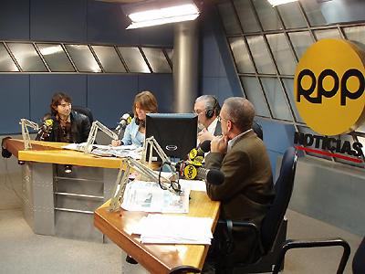 人気放送局RPPのニュース番組に出演