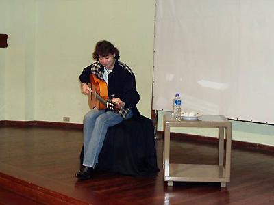 ペルーの子どもたちのためのミニコンサート