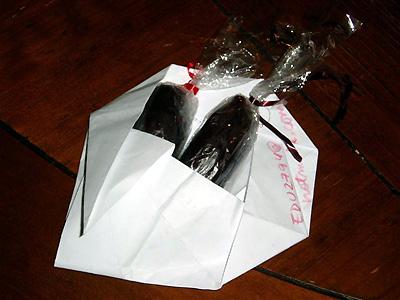 エドワルドくんのチョコレート
