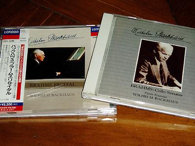 チェロ・ソナタと、ピアノ小曲集のCD