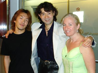 SherriさんとRyuichiさん