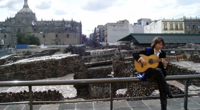 Recital especial en el Templo Mayor de Tenochtitlan, Mexico 2009